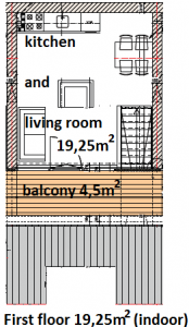 20150602 Apartment A, B & C First floor